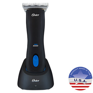 Oster Pro 3000i Cordless Clipper for Equine Grooming w/ #10 Wide Blade