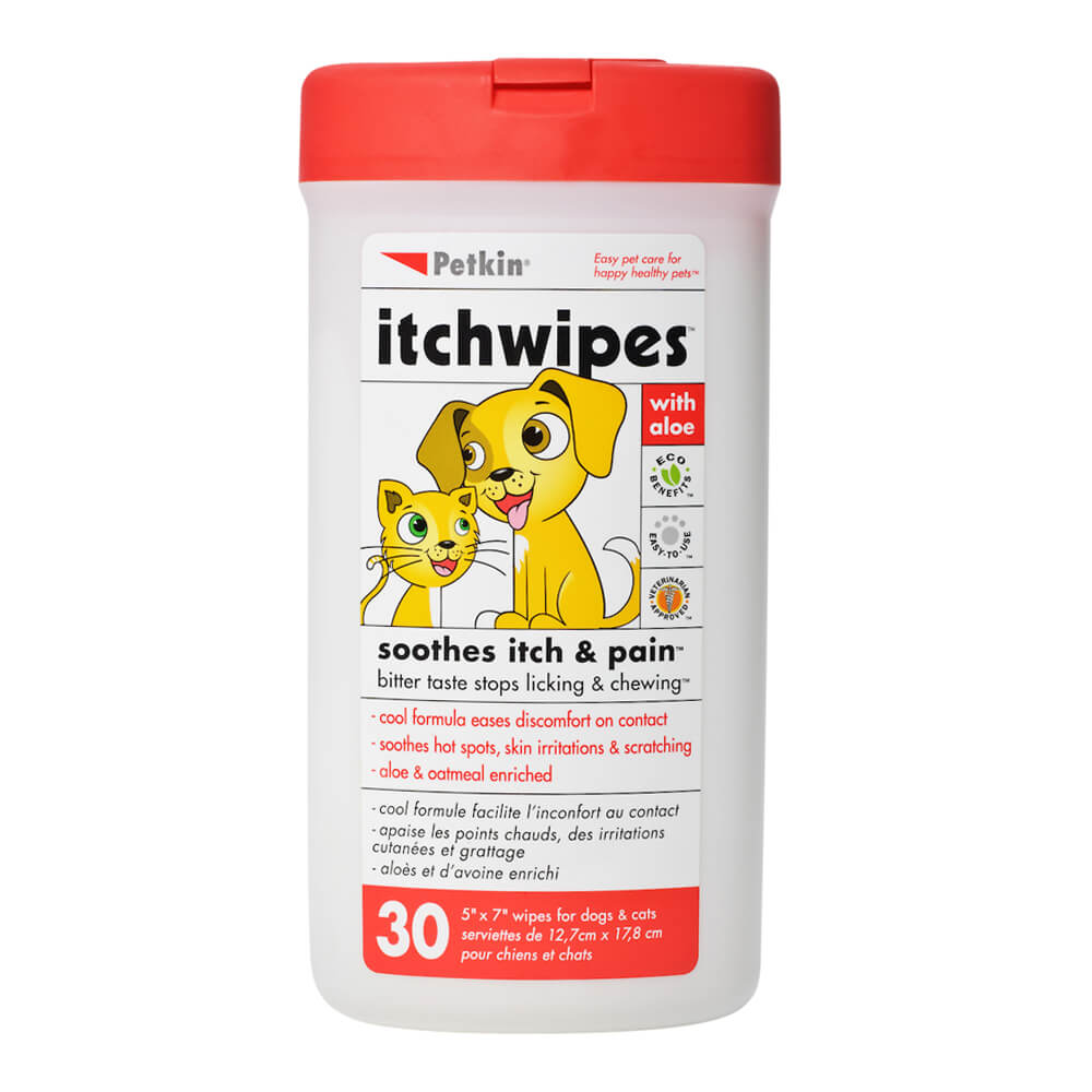 Itch Wipes 30 Count