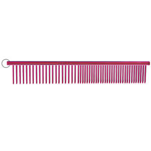 "Resco Combination Comb, Candy Raspberry, 1"" pins"