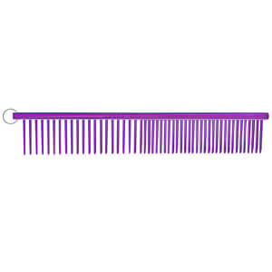 "Resco Combination Comb, Candy Purple, 1"" pins"