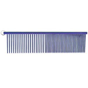 "Resco Combination Comb, Candy Blue, 1.5"" pins"