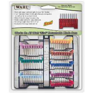 Wahl 5-in-1 Stainless Steel Attachment Comb Set