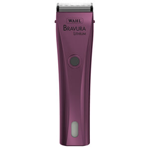 Bravura Lithium Ion Cord/Cordless Clipper, Purple