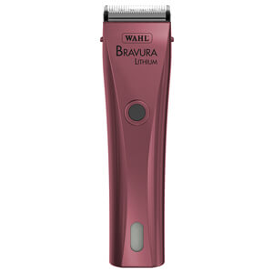 Bravura Lithium Ion Cord/Cordless Clipper, Pink