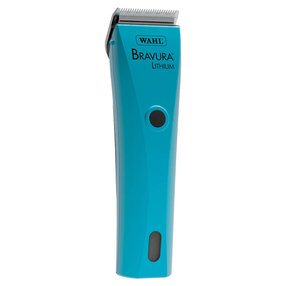 Bravura Lithium Ion Cord/Cordless Clipper, Turquoise