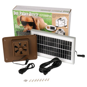 Dog Palace Breeze Solar Powered Exhaust Fan