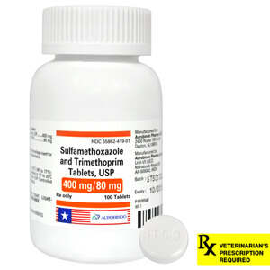 Sulfamethoxazole and Trimethoprim Rx Tablets 480mg