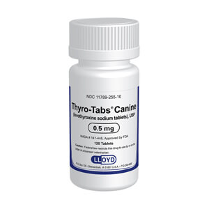 Thyro-Tabs Rx, 0.5 mg x 120 ct