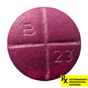 Rx Baytril 22.7mg x 1 Coated Tabs Purple
