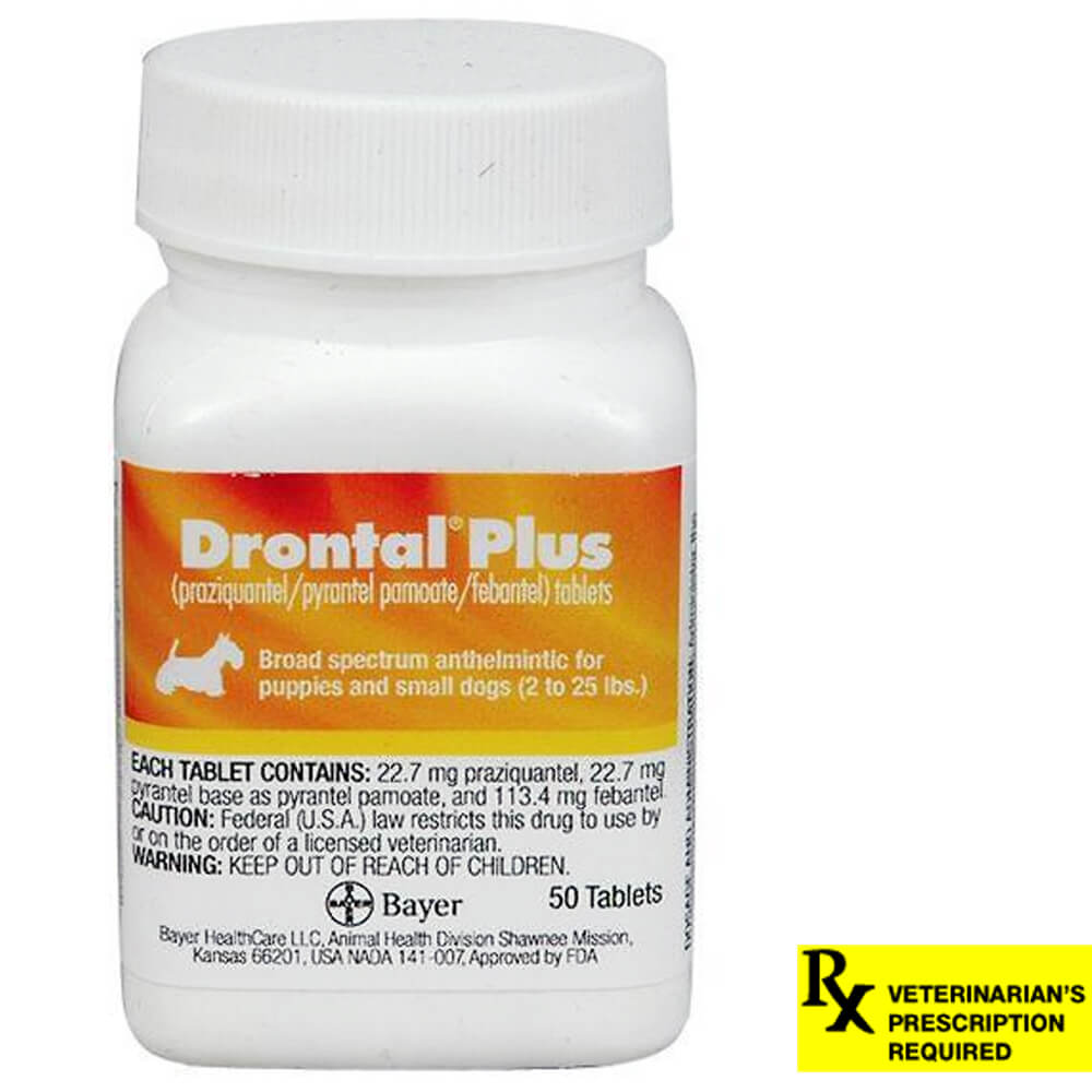 Drontal Plus Rx, 22.7 mg x 50 Tablets
