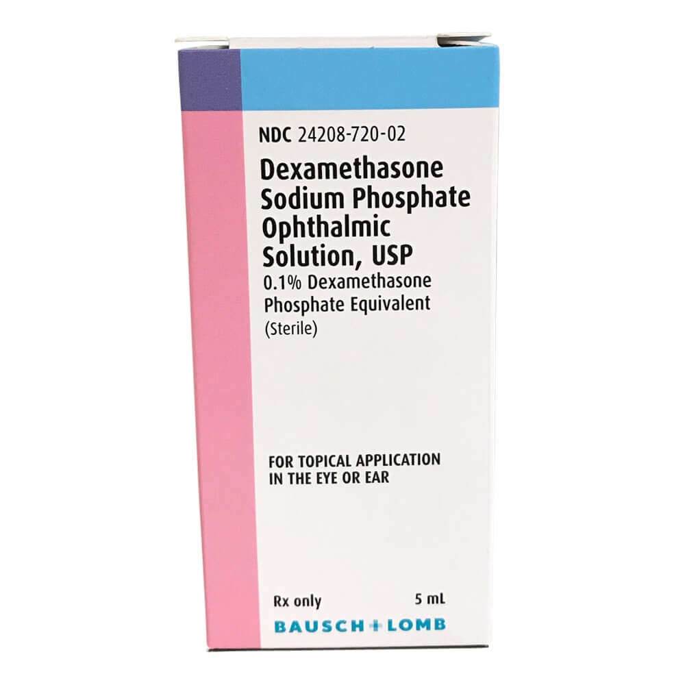 Rx Dexamethasone Opthalmic Solution .1%, 5 ml