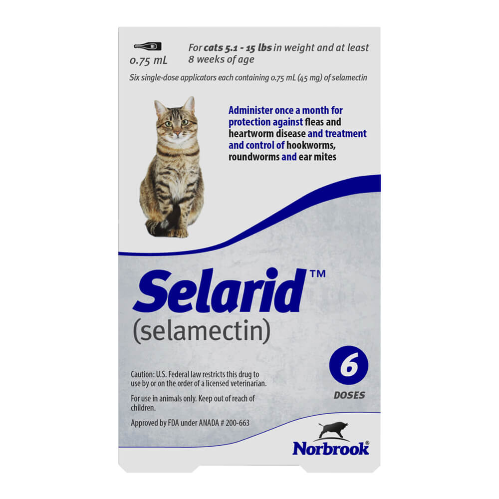 Rx Selarid, Sm/Md Cat, 5.1-15lbs