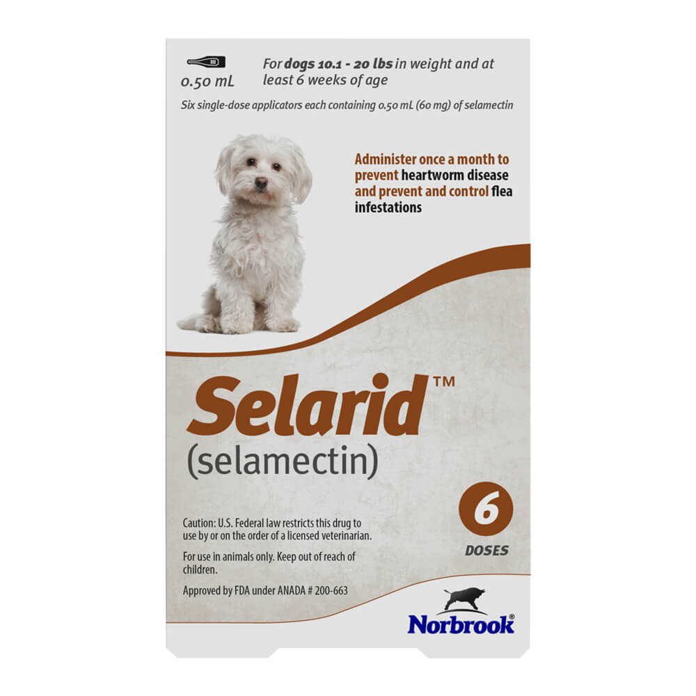 Rx Selarid, Small Dog, 10.1-20lbs