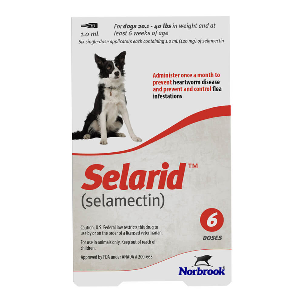 Rx Selarid, Medium Dog, 20.1-40lbs