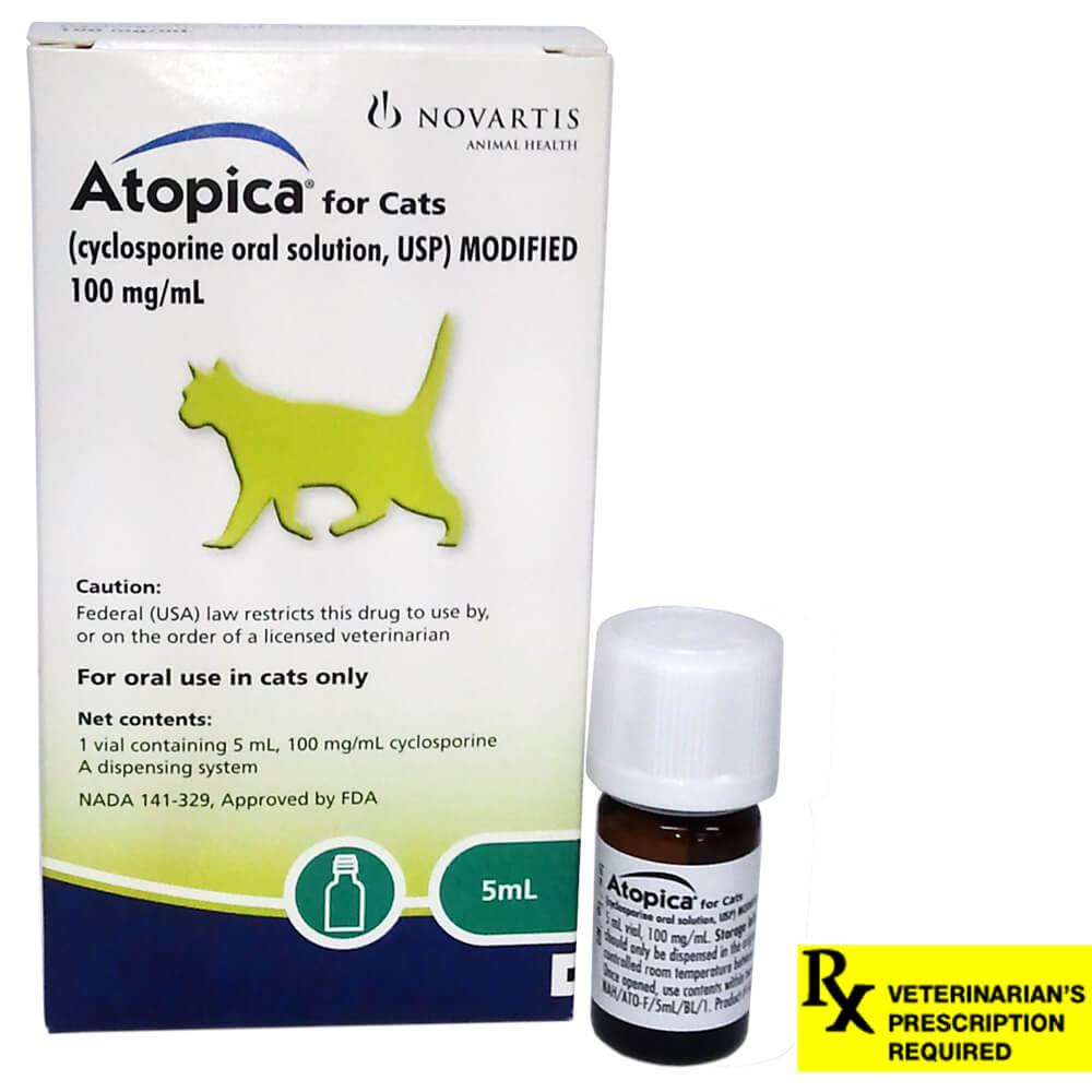 Rx Atopica, 5 ml, 100mg/ml