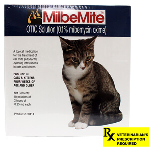 MilbeMite Rx Otic Solution