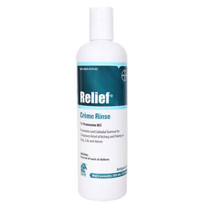 Relief Creme Rinse for Dogs, Cats and Horses