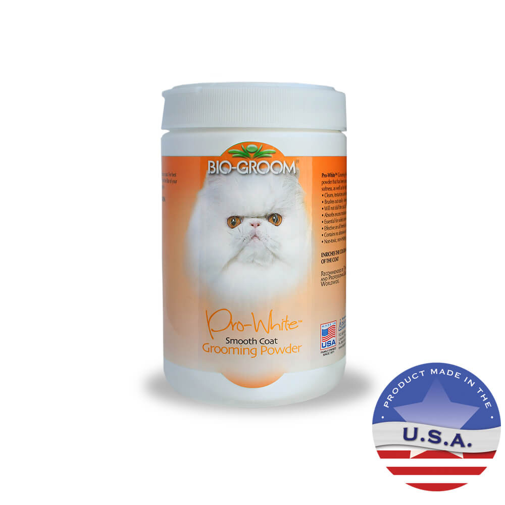 Bio-Groom Pro-White Grooming Powder for Cats, 6 oz