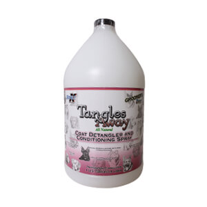 Tangles Away All Natural Detangler and Conditioning Spray, Gallon