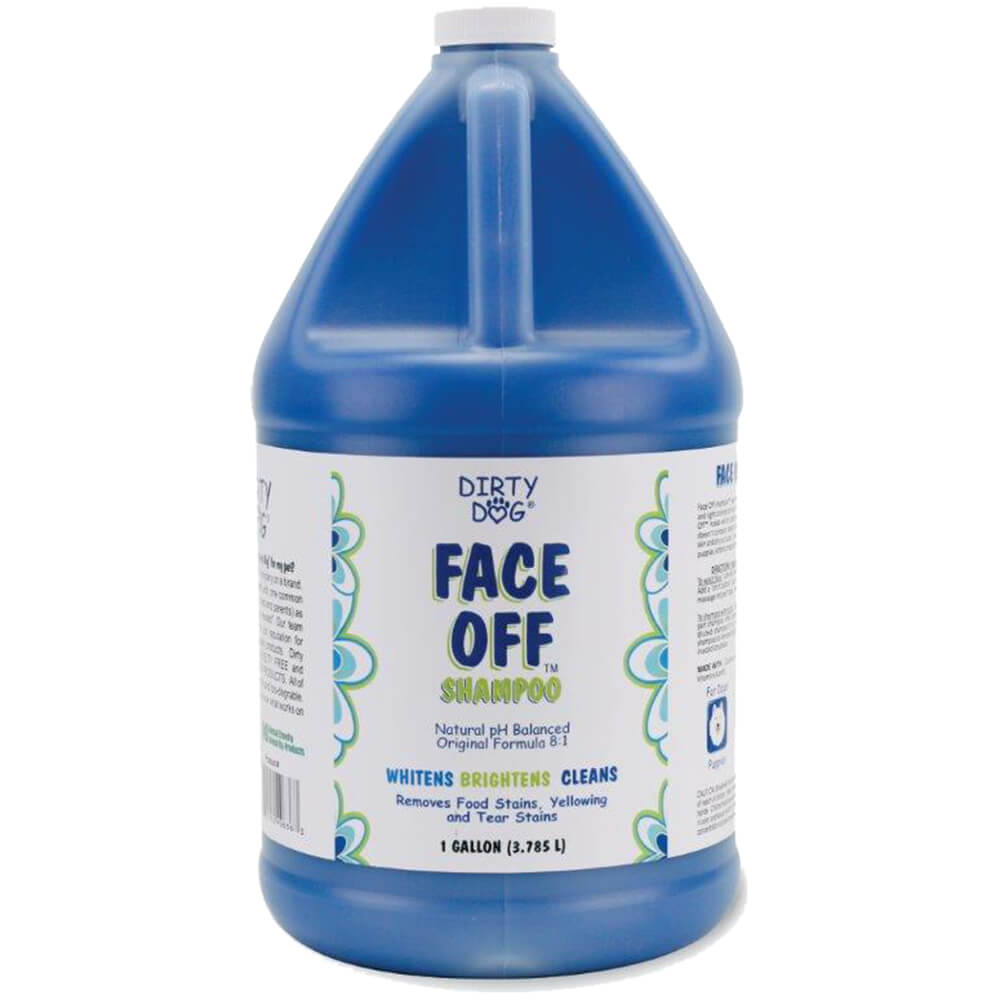 Dirty Dog Face Off Shampoo, Gallon
