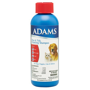 Adams Flea and Tick Cleansing Shampoo with IGR