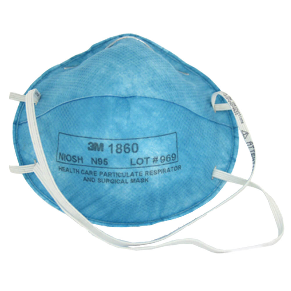 3m health care particulate respirator and surgical mask 1860s