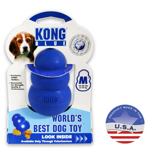 KONG for Dogs, Blue, Medium 15-35 lbs