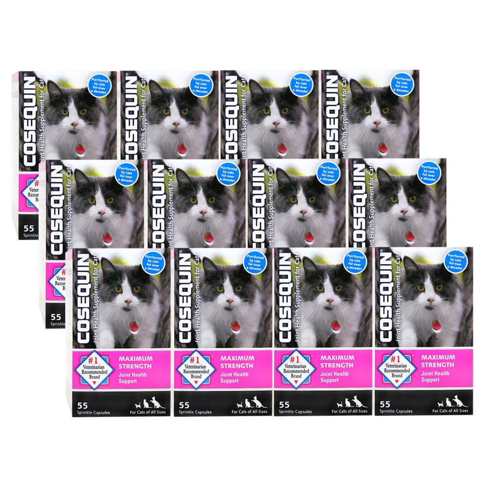 Cosequin for Cats, 55 Sprinkle Capsules, 12 pack