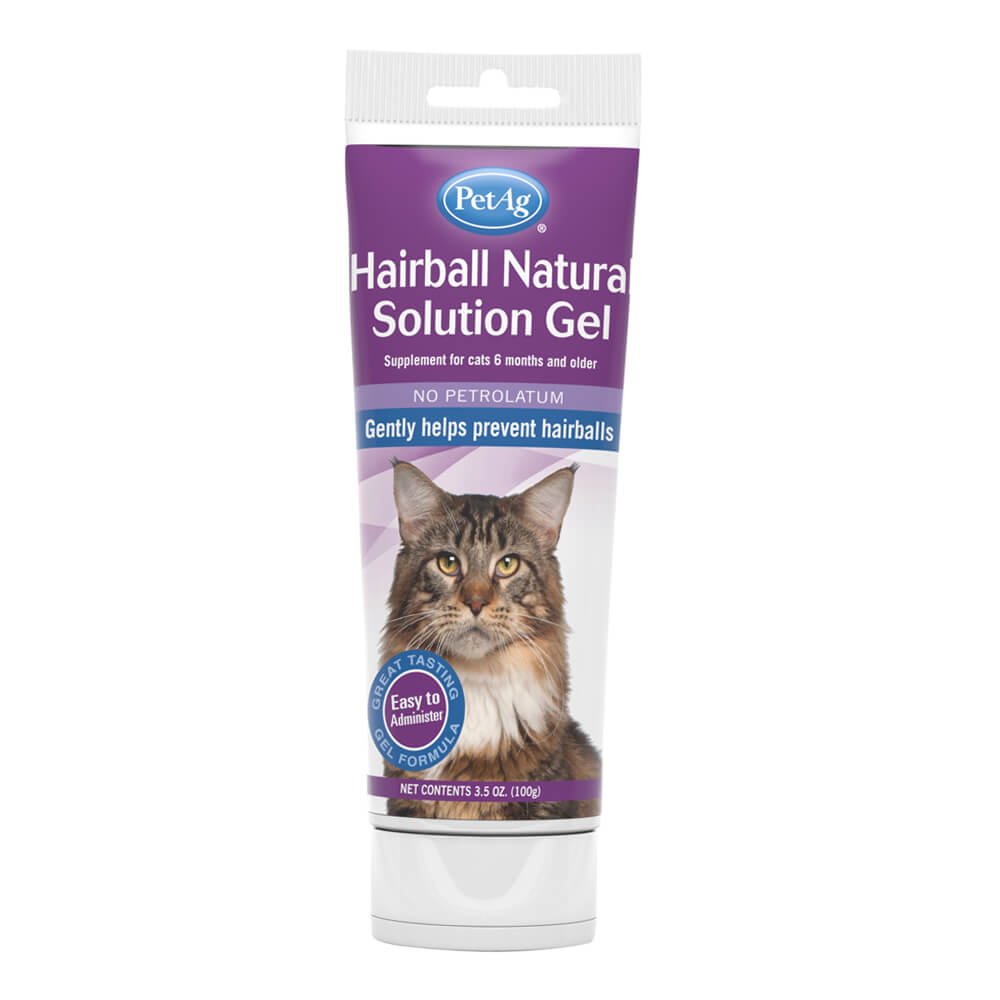 Hairball Natural Solution Gel for Cats 3.5oz