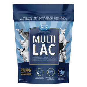 Multi Lac Multi-Species Milk Replacer, 3.5 lb