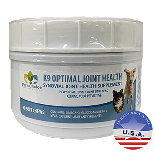 K9 Optimal Joint Health, 60 Soft Chews