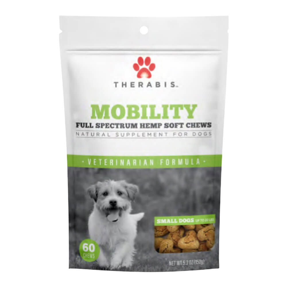 Therabis Mobility Chews Small Dog, 60ct