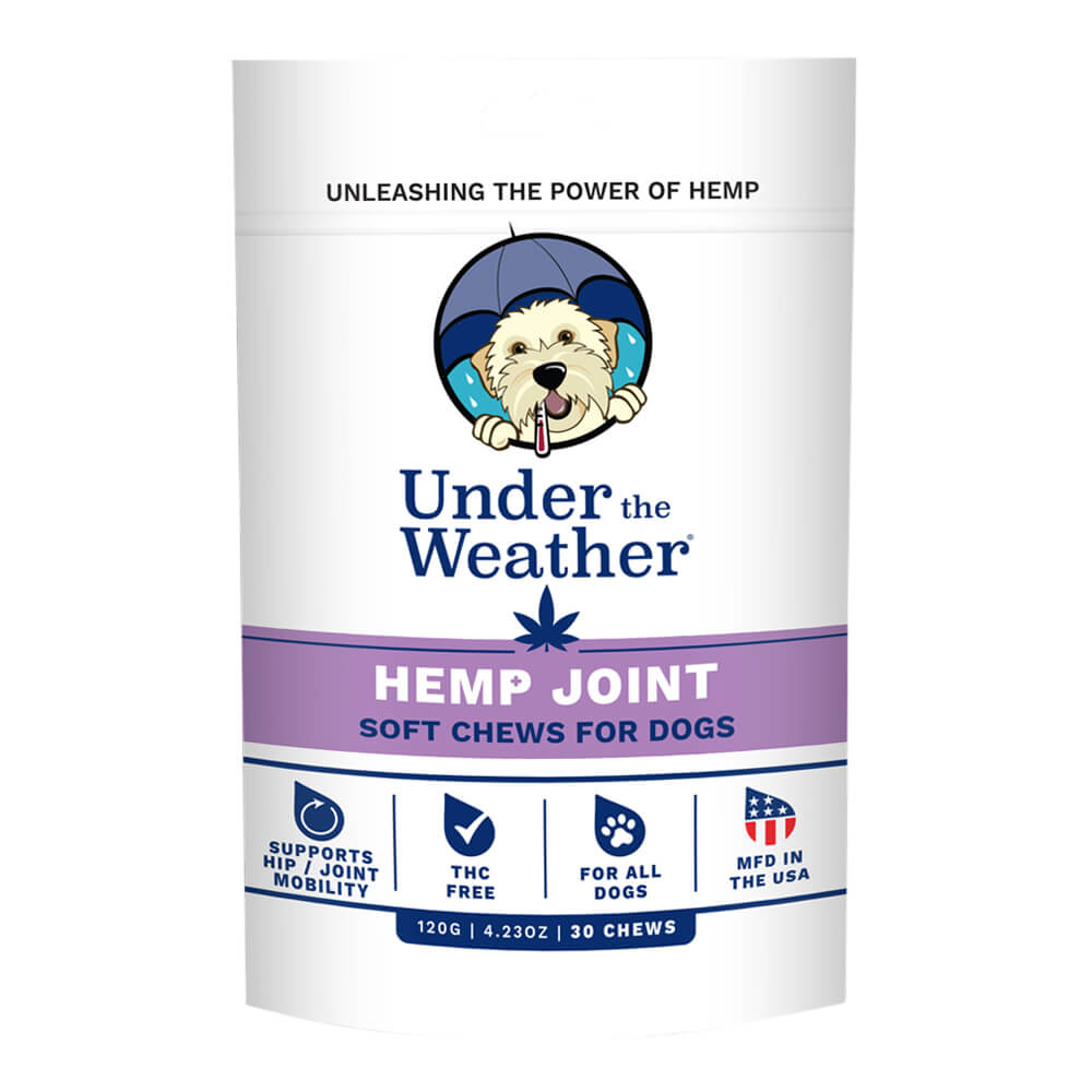 Under the Weather, Hemp Joint Soft Chews, 120 Grams