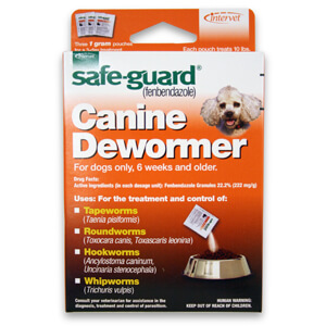 Safe-Guard Canine Dewormer Granules