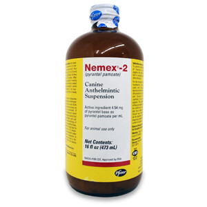 Nemex-2, Canine Anthelmintic Suspension, 16 oz