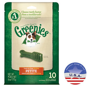 Greenies Petite Dental Chews for Dogs