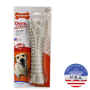 Nylabone DuraChew Bone, Chicken Flavor, X-Large Dog over 50 lbs