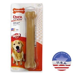 Nylabone DuraChew Bone, Original Flavor, Large Dog up to 50 lbs
