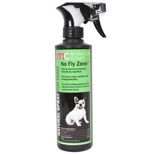 Miracle Coat No Fly Zone Natural Spray for Dogs, 12 oz