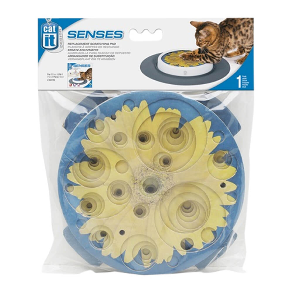 Catit Senses Replacement Scratching Pad, Sunflower
