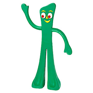 Gumby Rubber, Dog Toy, 9