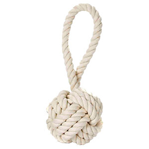 Multipet Nuts for Knots with Tug Dog Toy, Medium 4