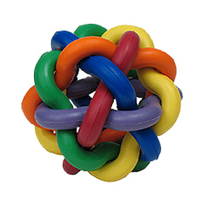 Multipet™ Nobbly Wobbly™ Rubber Dog Toy, 3