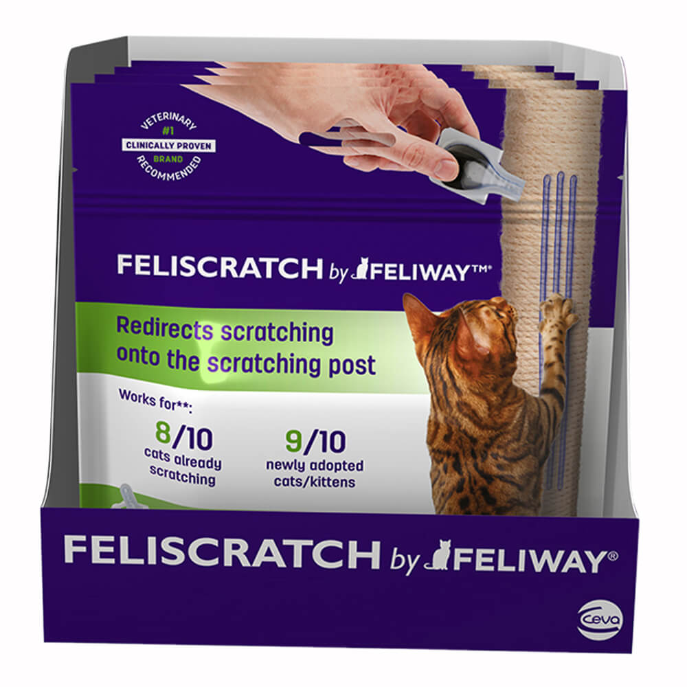 FELISCRATCH <em>by</em> FELIWAY<sup>™</sup> Display Box