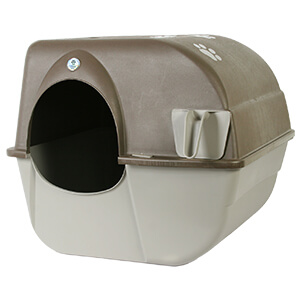 Roll'n Clean Self-Cleaning Litter Box Large