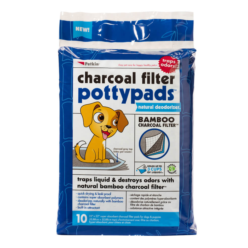 Charcoal Filter Potty Pads 10 Count
