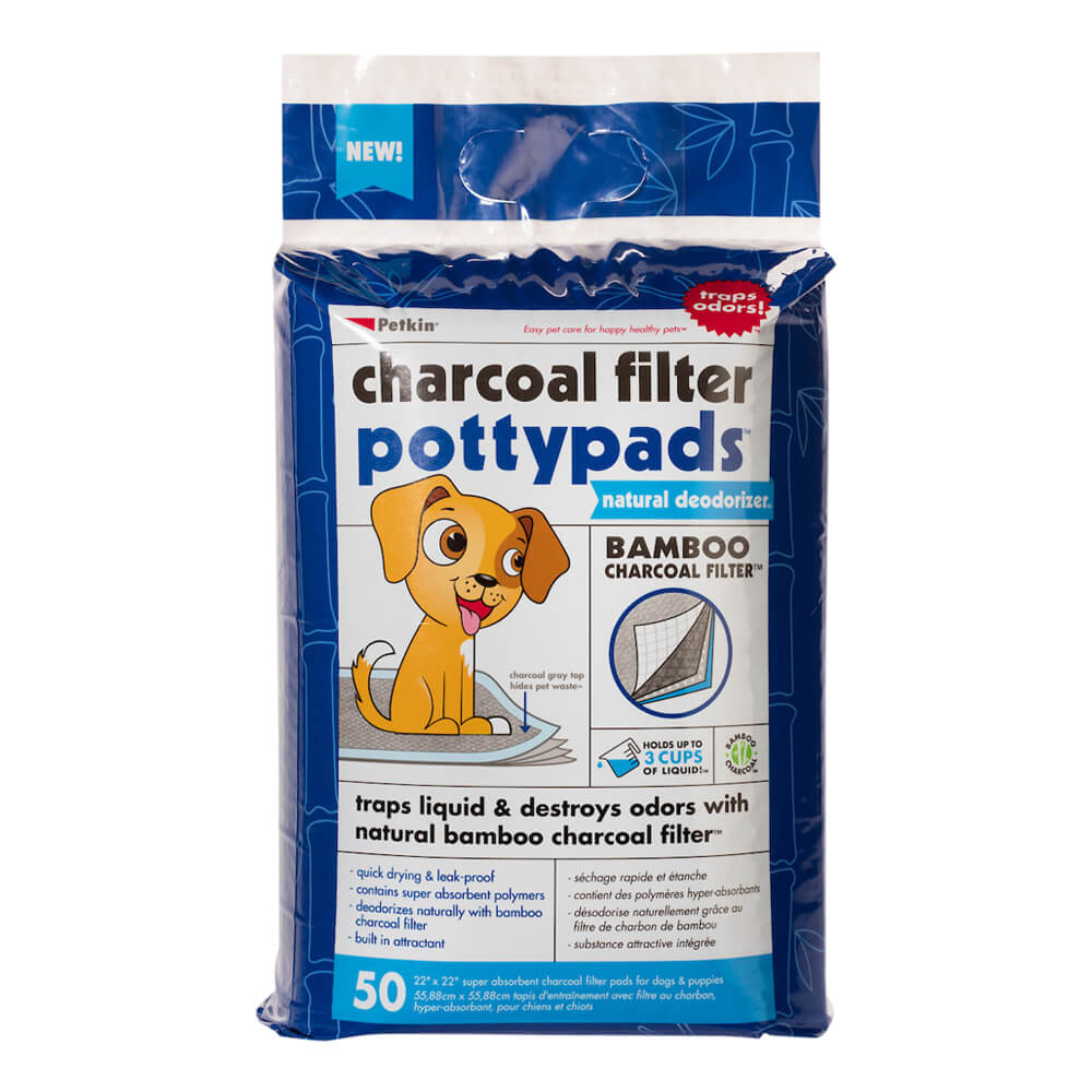Charcoal Filter Potty Pads 50 Count