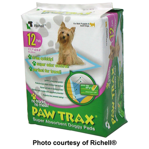 Richell PAW TRAX Super Absorbent Doggy Pads