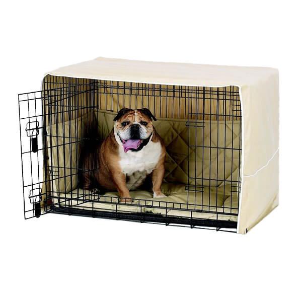 Pet Dreams Side Door Cratewear Dog Bedding Set