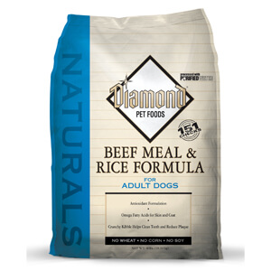 Diamond Naturals, Beef Meal & Rice